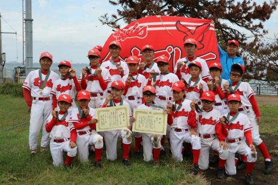 第3位!第20回関東学童軟式野球秋季千葉県大会(日ハム旗)